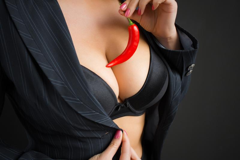 массаж носа грудью